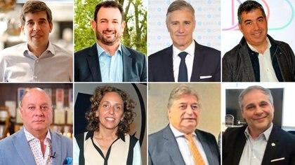 Alejandro Simon; José Urtubey, Marcelo Figueiras, Martín Umaran, Martín Cabrales, Mara Bettiol, Pablo Peralta y Fabián Castillo
