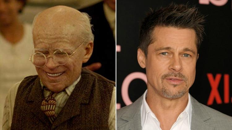 Brad Pitt en El Curioso Caso de Benjamin Button