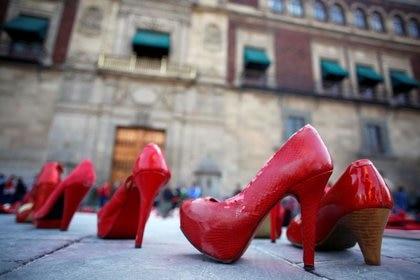 De enero a junio de 2020 se registraron en México 489 feminicidios, según el Sistema Nacional de Seguridad Pública (SNSP) (Foto: Reuters/Gustavo Graf.)