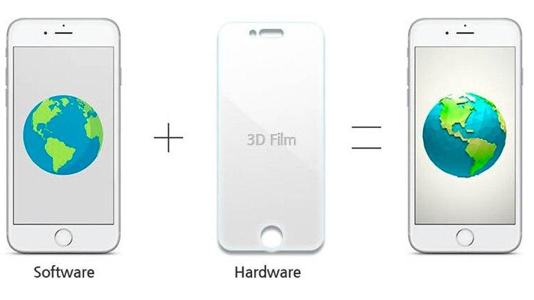 El sistema se basa en films ópticos.
