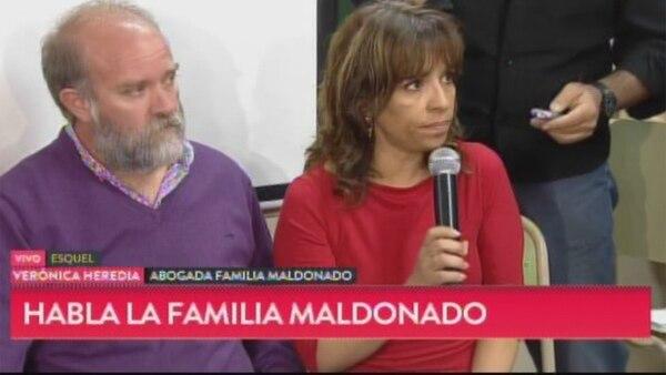 """Habla la familia de Santiago Maldonado: """"El cuerpo no ha sido identificado hasta el momento"""""""