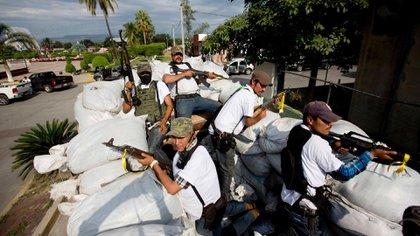 Fuerzas de autodefensa de Michoacán (AP)