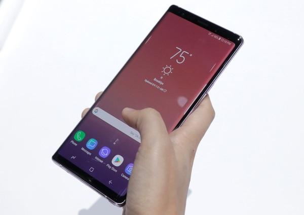 Galaxy Note 9, uno de los mejores teléfonos del mercado.