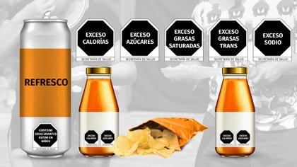 Las nuevas etiquetas serán de forma octagonal. (Foto: Jovani Pérez)
