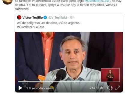El comentario de Diego Luna en Twitter