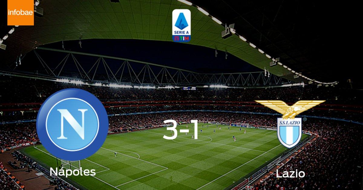 Nápoles se hace fuerte en casa y gana a Lazio (3-1) - Infobae