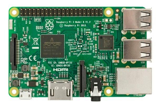 Raspberry Pi, la computadora básica que se utilizó
