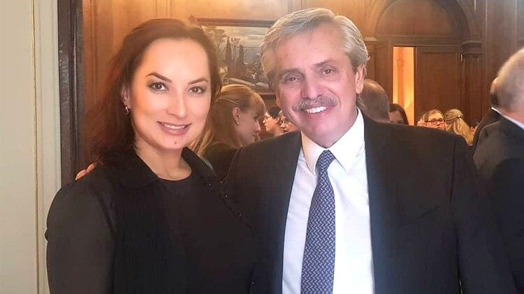Olessia Kasakova se reunió con Alberto Fernández en la embajada de Rusia y busca potenciar los negocios rusos en Vaca Muerta
