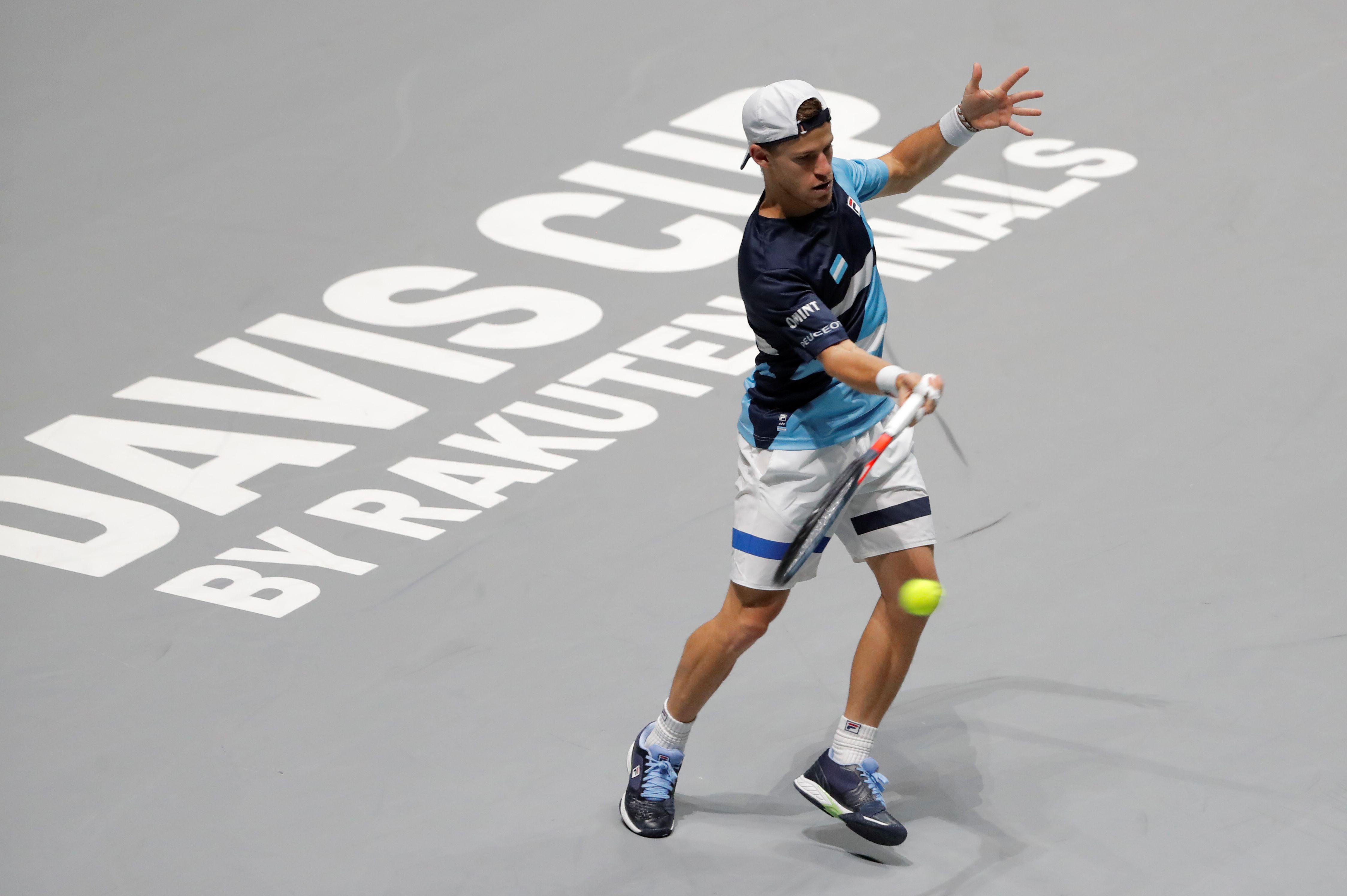 Diego Schwartzman buscará dar el batacazo y ganarle a Rafael Nadal por primera vez en su carrera (REUTERS/Susana Vera)