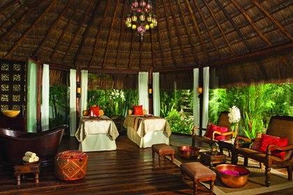 Un spa con los mejores y más modernos tratamientos (Crédito: Prensa Dreams Tulum)