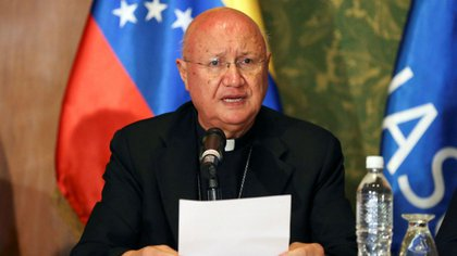Monseñor Claudio María Celli, Delegado del Papa para la mesa del diálogo en Venezuela