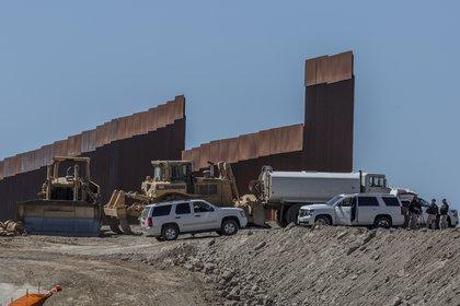 Trump supervisó los avances del muro en California (Foto: Cuartoscuro)