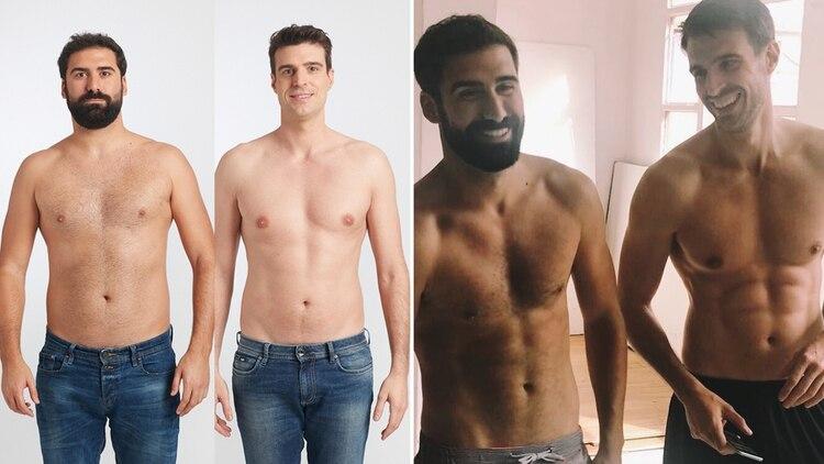 Como bajar de peso hombres jovenes posando