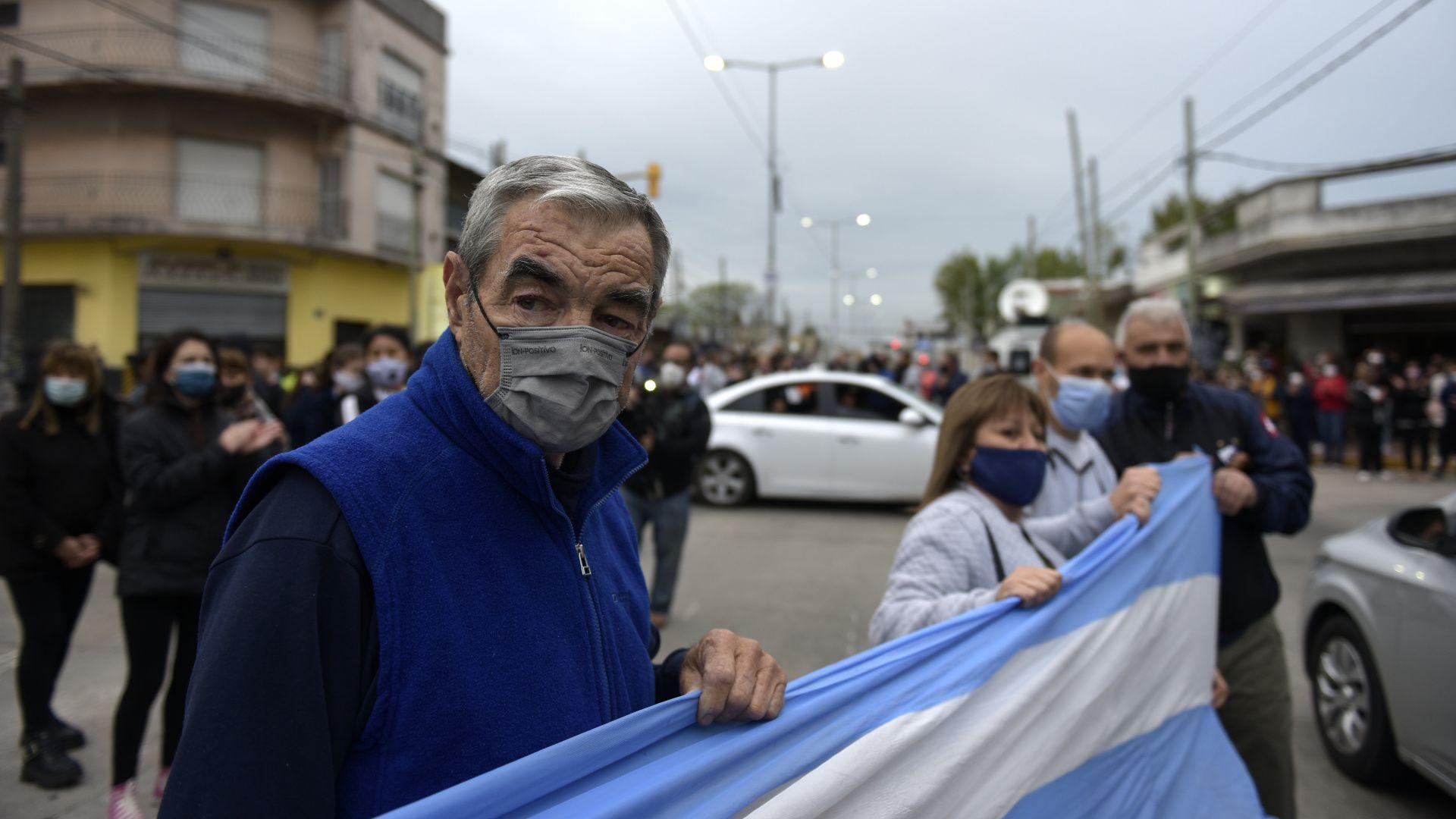 Manifestación Quilmes mail 1