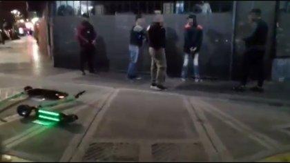 La detención ocurrió en el barrio de Almagro