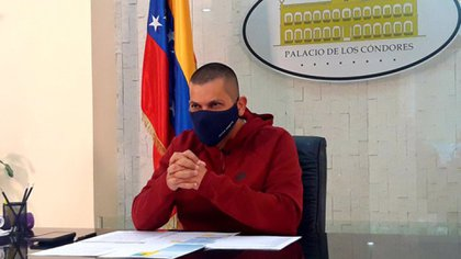 Omar Prieto, gobernador de Zulia, también contrajo coronavirus (@OmarPrietoGob)