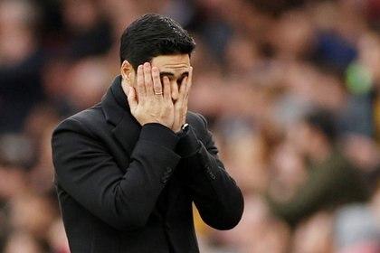 Arteta, entrenador del Arsenal, dio positivo por coronavirus