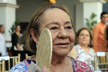 Mercedes Barcha fue esposa, musa y gran amor de García Márquez (Foto. EFE/RICARDO MALDONADO ROZO/Archivo)