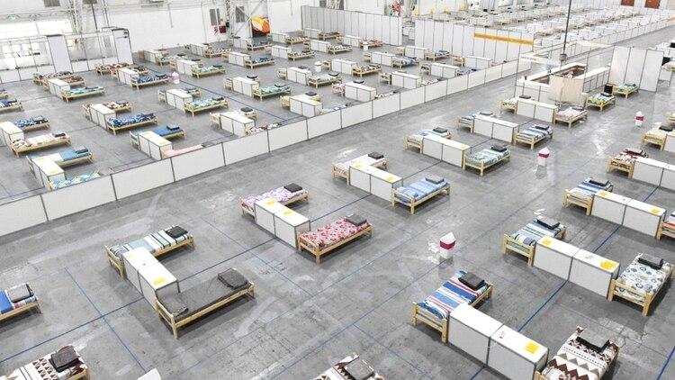La imagen de uno de los sectores del centro, antes de su apertura (Prensa GCBA)