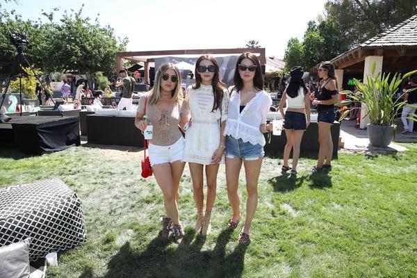 Las En Coachella Glam Los Famosas Looks Mejores 2017 Infobae Hippie De l1KJ35uTcF