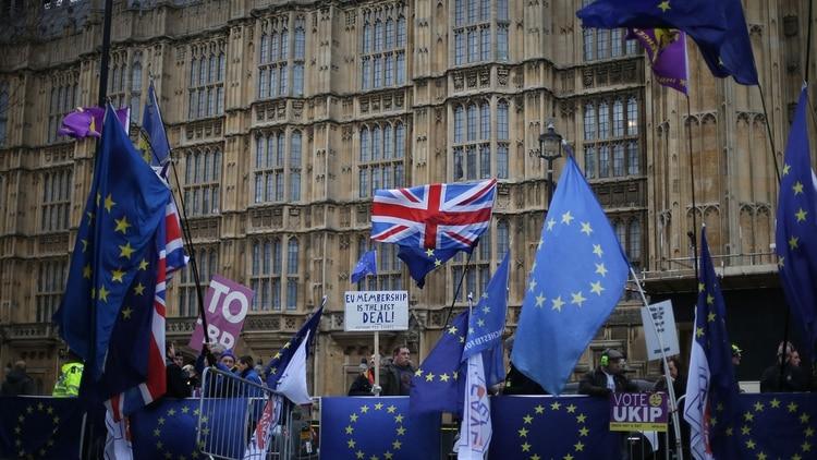 El Parlamento busca tomar más control sobre el proceso del Brexit (AFP)
