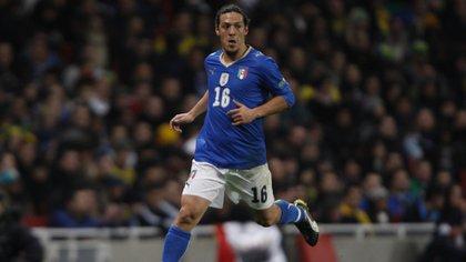 Mauro German Camoranesi con la camiseta de Italia en 2010. Un año después fue sentenciado a pagar 200.000 pesos, pero el jugador que malogró la carrera de Pizzo nunca se disculpó.