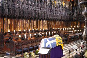 Minuto a minuto:  cómo fue el funeral del Príncipe Felipe, duque de Edimburgo