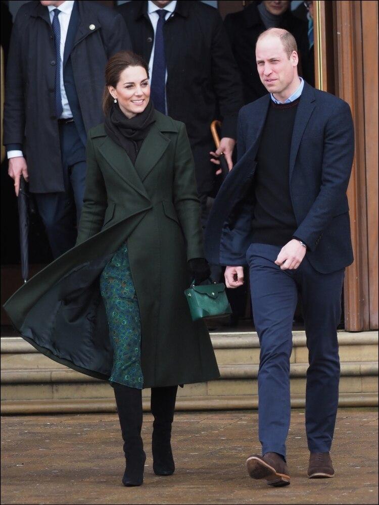 20960f8e7 Kate Middleton vs. Meghan Markle de verde  quién copió a quién - Infobae