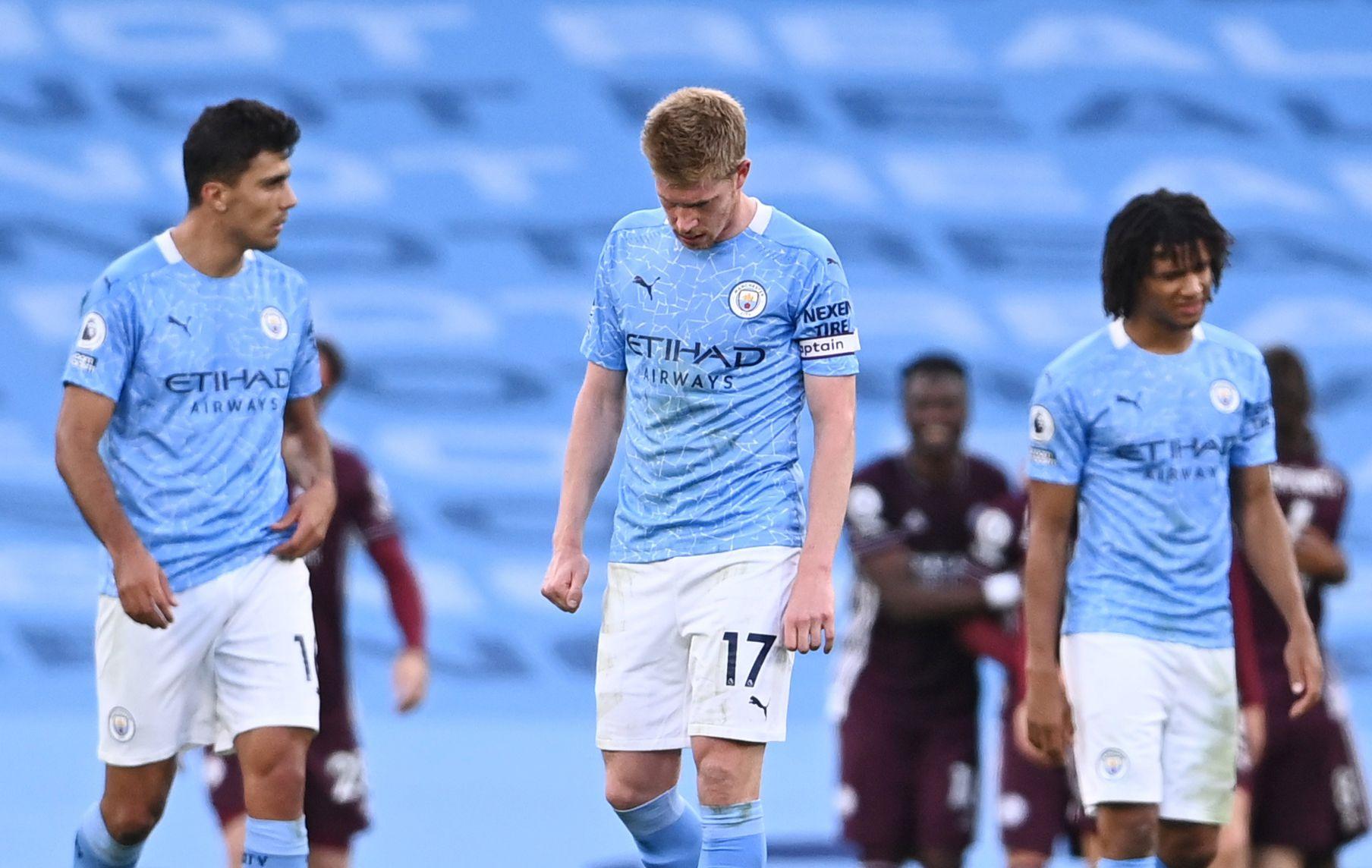 Manchester City fue vapuleado en su estadio (REUTERS/Laurence Griffiths)