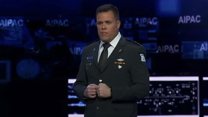 Jonathan Conricus, the spokesman for the Israel Defense Forces