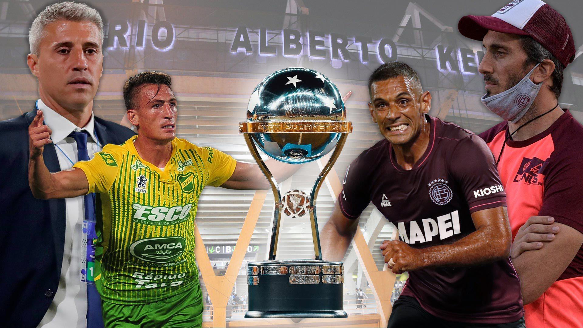 Final Copa sudamericana 2021 - Defensa y justicia - Lanus 1920