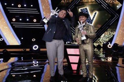 Fernando Sujo, del equipo de Christian Nodal, se coronó como el gran ganador de la segunda temporada de La Voz México (Foto: Instagram)