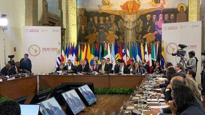 La Cumbre de la CELAC finalizó este miércoles en Ciudad de México (Foto: Twitter@EmbaMexChi)
