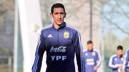 Di María podría integrar la nueva lista de Scaloni y sería su regreso a la Selección (@Argentina)
