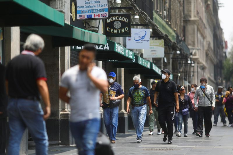 La Ciudad de México fue uno de los principales focos de contagio en el inicio de la epidemia en el país (Foto: Edgard Garrido/ Reuters)