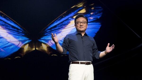 DJ Koh, CEO de la división de Comunicaciones Móviles y IT de Samsung Electronics