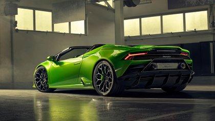 Lambo Evo: una belleza de 640 caballos y el sonido inconfundible del V10.