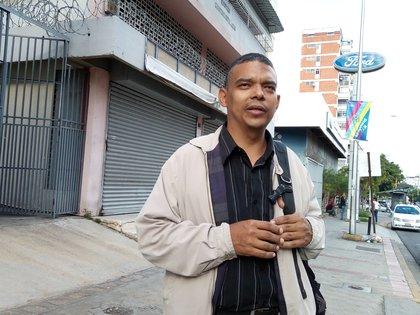 """""""En Venezuela no hay justicia independiente"""", expresa el abogado Emilio Negrón (Foto: Elizabeth Ostos)"""