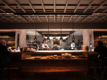 La gran cocina que tienen en Nueva York los creadores de Mishiguene