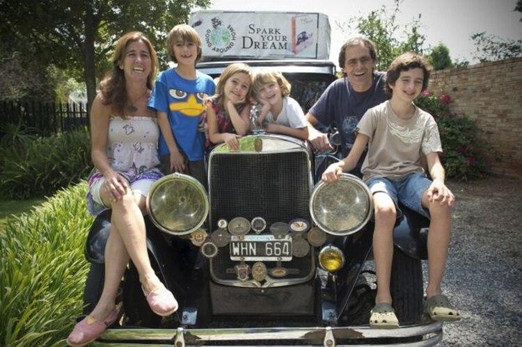 Los Zapp llevan dos décadas de viaje. Ya superaron los 350 mil kilómetros recorridos (ig: familiazappfamily)