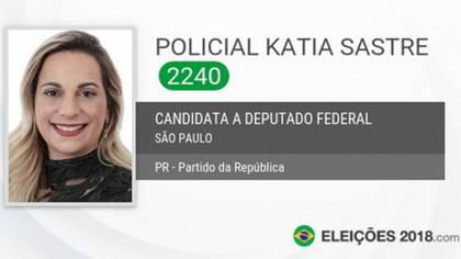 Katia Sastre se presentó por el conservador Partido da República