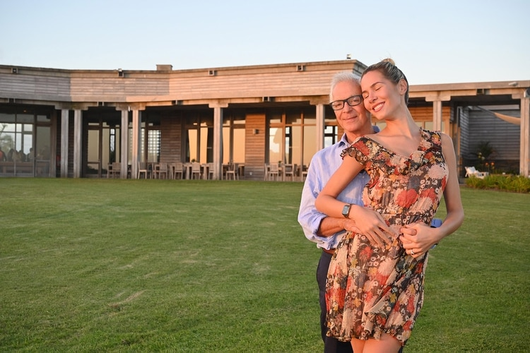 Eduardo Costantini y Elina Fernández