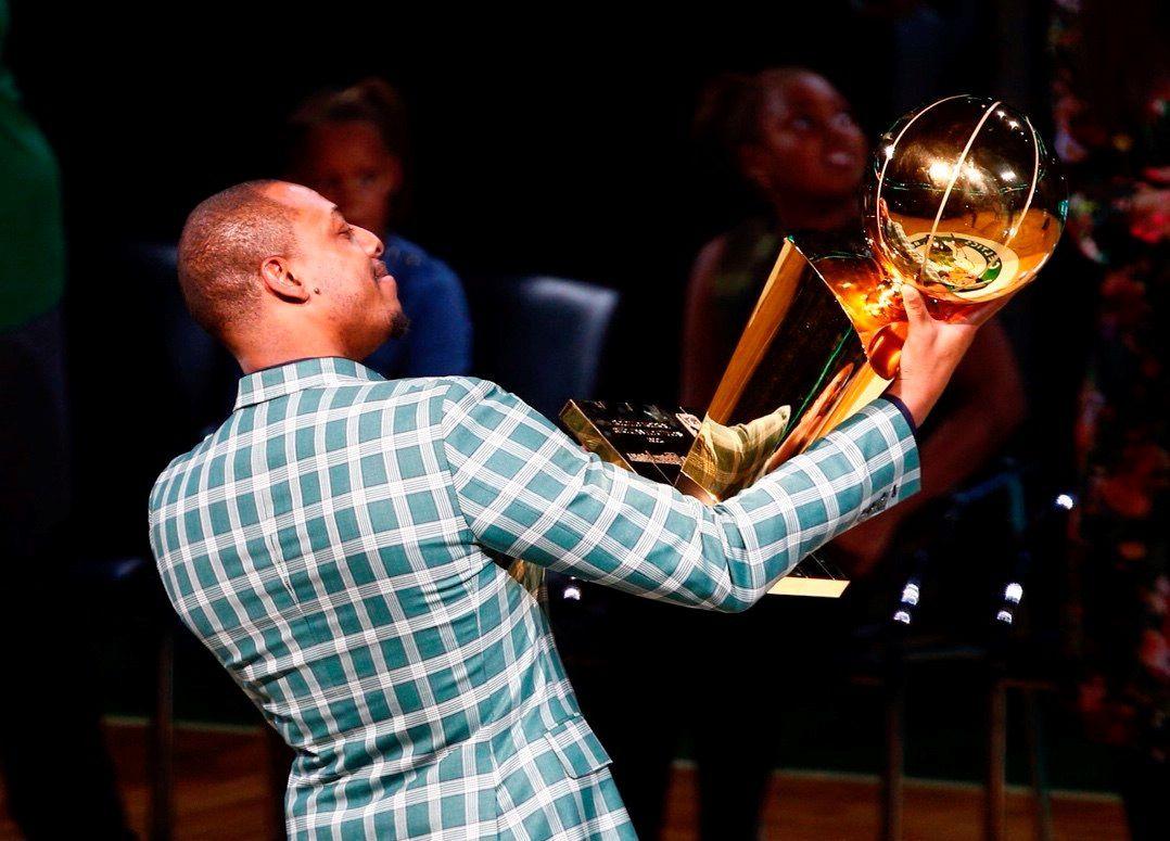 Paul Pierce, campeón con los Celtics de Boston (EFE/CJ Gunther)