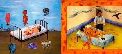 """""""La cama volando"""" y """"Unos cuantos piquetitos"""""""