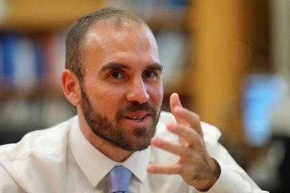El ministro de Economía argentino, Martín Guzmán. (Reuters)