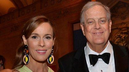 Julia Flesher Koch: perdió este año junto con su cuñado, 4.430 millones de euros (5.420 millones de dólares), según Bloomberg.