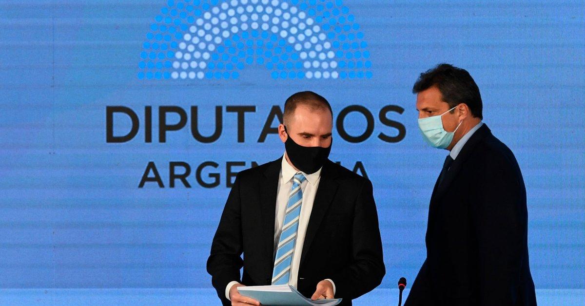 Guzmán espera reunirse con el oficialismo en Diputados para defender su Presupuesto 2022