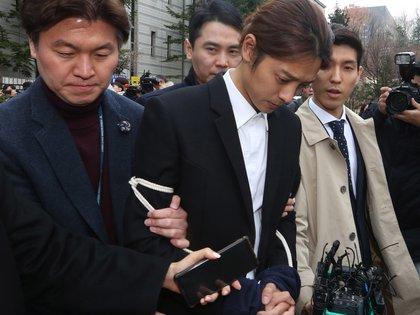 Jung Joon-young fue detenidoy dejó la músicaen medio del escándalo (EFE/ Kim Chul-soo)
