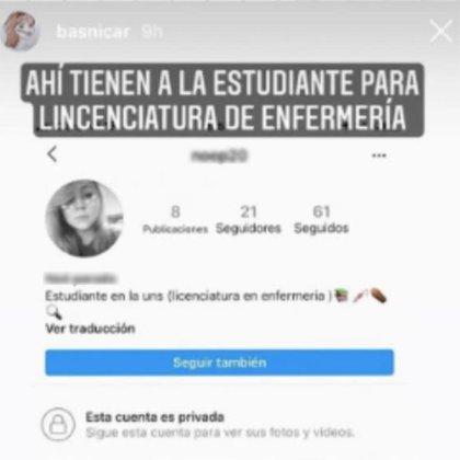 Brenda Asnicar repudió a la usuaria que le hizo un comentario sobre su aspecto físico (Foto: Instagram)