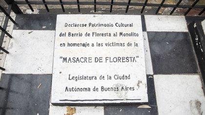 El memorial impulsado por la Legislatura porteña.